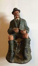 Figur des Kaisers Franz Josef I, Jagdlich, Tabakstopf