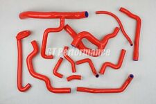 Renault R19 16S 12 hoses Silicon set COOLANT hose kit F7P valves RED