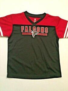 NFL Atlanta Falcons Toddler Size 3T Red Black Jersey NWOT