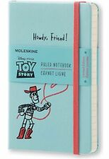 NIP MOLESKINE PASSIONS TOY STORY WOODY JOURNAL NOTEBOOK PRIORITY MAIL AVAILABLE!