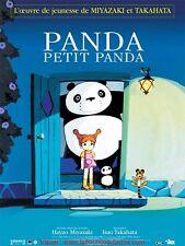 PANDA PETIT PANDA Affiche Cinéma / Movie Poster 160x120 HAYAO MIYAZAKI