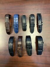 Watch Bands Lot - Different Sizes and Colors