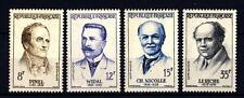 FRANCE - FRANCIA - 1958 - Grandi Medici Francesi
