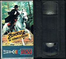 (VHS) Zorro, der schwarze Rächer - Frank Latimore, María Luz Galicia (1962)