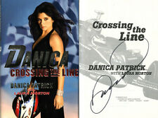 Danica Patrick SIGNED AUTOGRAPHED Crossing The Line HC 1st Ed/1st Print Indy 500
