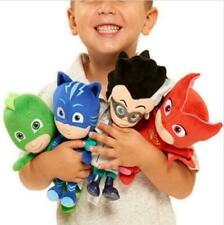 4pcs Movie PJ Masks Gekko Catboy Owlette Romeo Plush Doll Toys Stuffed Kids Gift