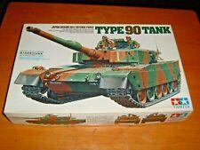 1996 TAMIYA Model JAPAN GROUND SELF DEFENSE FORCE TYPE 90 TANK Kit #35208