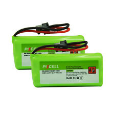 2x PKCELL Cordless Phone Batteries 2.4V AAA 800mAh for Uniden BT-1008 BT1008