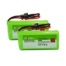 2x PKCELL Cordless Phone Batteries 2.4V AAA 800mAh for Uniden BT-1008 BT1008