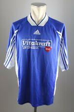 adidas vintage Shirt OT Bremen Trikot 90er Shirt Gr. XL #17 jersey 90s blau VC2
