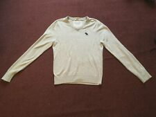 "ABERCROMBIE & FITCH  MENS  GREY  JUMPER       (36"" CHEST)"