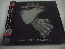U.D.O.-Man And Machine JAPAN 1st.Press w/OBI BOX 2 Bonus Tracks Accept Scorpions