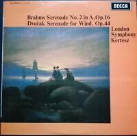 Brahms - Serenade No. 2, Dvorak -  Wind Serenade, KERTESZ, LSO, Decca SXL 6368