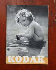 Kodak 1938 Product Catalog, March/cks/211493