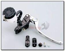 Kit Pompa Freno Radiale Anteriore Nissin Nera 19x21 + Serbatoio + Supporto