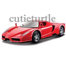 Bburago Ferrari Race & Play Ferrari Enzo 1:24 Diecast Model Car 26056 Red