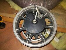 1985-1988 Kawasaki EN450/454LTD rear wheel with drum brake&belt pulley