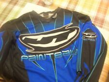 JT Paintball Jersey Racing Team Blue Used Vintage Pro