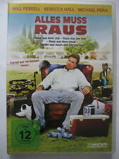 ALLES MUSS RAUS - DVD - WILL FERRELL REBECCA HALL MICHAEL PENA