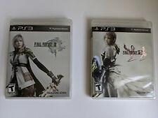 Final Fantasy XIII 13 and XIII-2 13-2 PS3  FFXIII FFXIII-2 FFXIII2