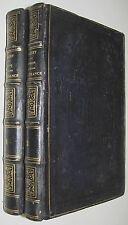 1849 Histoire Militaire de la France. (2 Volumes, Lovely binding) by P. Giguet