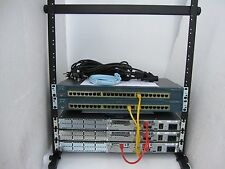Cisco CCENT CCNA Add On Lab 3x2610 2x2950-24 ICND CCNA Free Desktop Rack