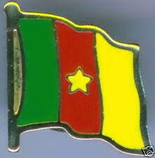 Cameroon, Cameroun Flag Lapel / Hat Pin NEW