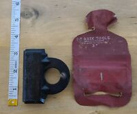 """Vintage E-Z Mark 3"""" Butt Gauge with original cover Los Angles"""