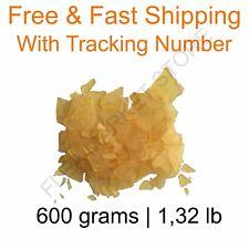 Natural rosin pine resin colophony Flakes 600 grams 1,32 lb 100% Natural genuine