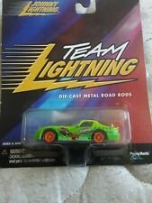 "Johnny Lightning Team Lighting ""Crash Bandicoot"" - 1:64Th Scale Die-Cast"