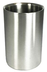 Buckingham Stainless Steel Wine Bottle Cooler Bucket Ice Double Wall Party Bar
