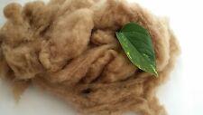Baby Camel Wool Fiber Fibre 19 Micron Carded Roving Spinnig Felt 100grams 3.53oz