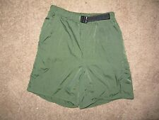 """The North Face Hiking Shorts - Womens M (26-32"""" waist) - Military Green"""