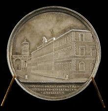 Médaille Pape Pope Pie Pius IX Hop Psychatrique Bianchi 1866 argent silver medal