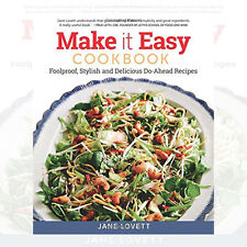 Make it Easy Cookbook By Jane Lovett New Paperback 9781504800549