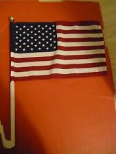 Lot of  2  American Flag car window Mount BRAND NEW