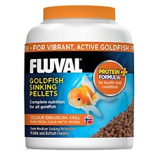 Fluval Goldfish Pellets Coldwater Aquarium Fish Food 1mm 3mm 90g 150g Pellet