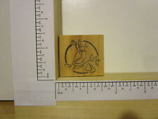 Rubber Stamp by RUBBER HEADS Dove and holly