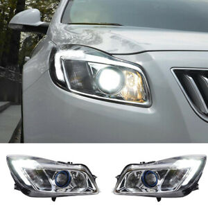 2X For Buick Regal Headlights assembly xenon Lens Projector 2011-2013 hid model