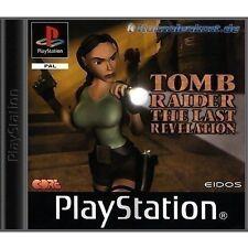 PS1 Spiel - Tomb Raider IV / 4 Spiel - The Last Revelation (mit OVP) NEUWERTIG