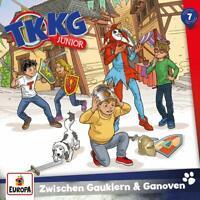 TKKG JUNIOR - 007/ZWISCHEN GAUKLERN UND GANOVEN   CD NEW