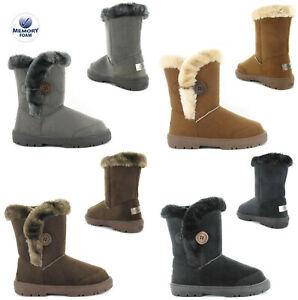 Ella Nina Snug Boots Ella Womens Girls Warm Lined Boots Snow Boots UK Size 3-8