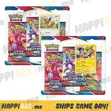 Pokemon Battle Styles Blister Booster Packs🍯Sword & Shield TCG FOIL Cards