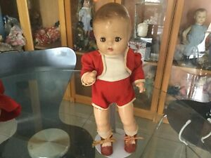"Antique RARE EFFANBEE ""PATSY TWIN BOY "" Full Compo Doll ca1930s 31.5 cm in Ht."