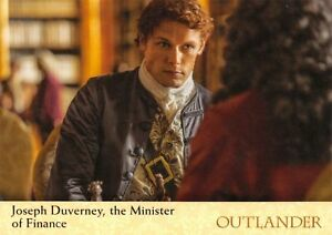 Outlander Season 2 BASE Trading Card #16 / JOSEPH DUVERNEY, THE MINISTER FINANCE