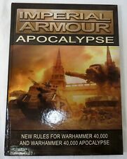 Forge World Warhammer 40K Imperial Armour Apocalypse Rule Book