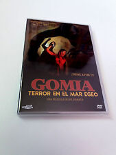 "DVD ""GOMIA TERROR EN EL MAR EGEO"" COMO NUEVO JOE D'AMATO GEORGE EASTMAN ANTHROPO"