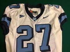 North Carolina Tar Heels UNC Game Worn Football Jersey #27 Size 48