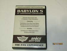 Babylon 5 20Th Anniversary Conventions 8 Dvd Rom And 2 Transcript Books