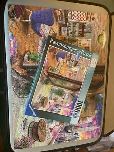 Ravensburger,1000 Jigsaw Puzzle, Apartment Envy, NYC Apartment. Complete.
